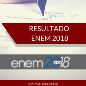 resultado enem 2018