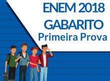 Enem 2018 - Gabarito - Primeiro dia