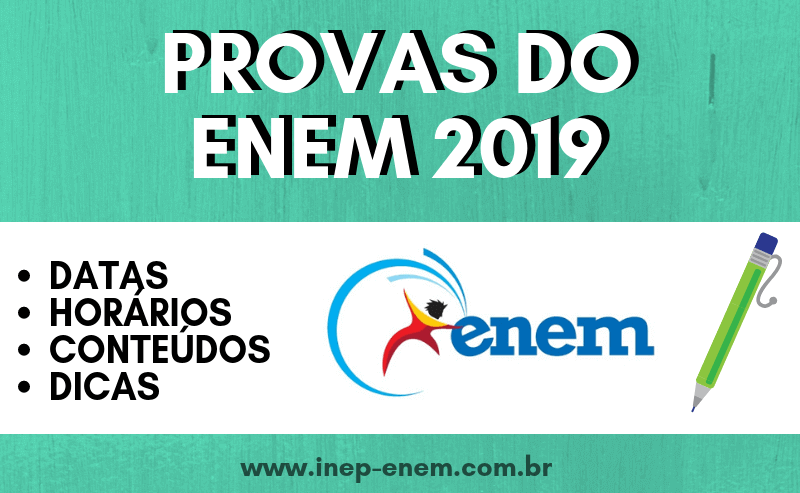 Provas do ENEM 2019