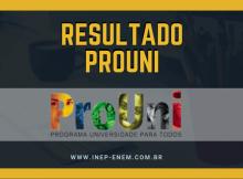 Resultado Prouni