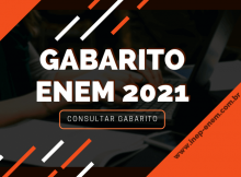 Gabarito ENEM