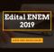 Edital ENEM 2019
