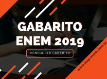 Gabarito ENEM 2019