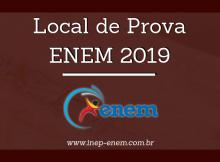 Local de Prova Enem 2019