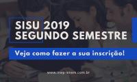 Segundo Semestre Sisu 2019