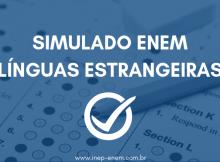 Simulado ENEM - Línguas Estrangeiras
