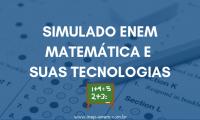 Simulado ENEM - Matemática e suas tecnologias