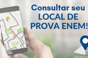 Veja como Consultar seu Local de Prova ENEM 2019