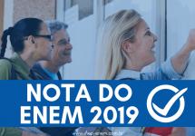 Nota do ENEM 2019