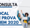 Consultar local de prova enem 2020