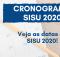 CRONOGRAMA SISU 2020