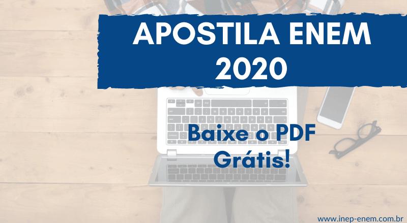 apostila enem 2020